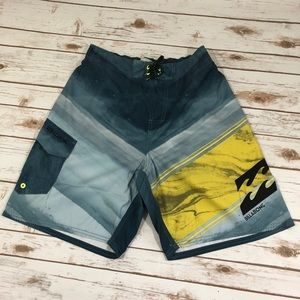 🆕🔥Billabong Men Beach Shorts Hydro Size M